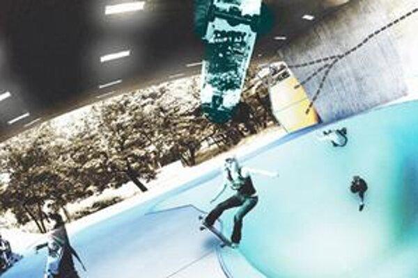 """Moderné """"skate bowls"""" sadnú pod strechu Nového mosta ako uliate."""