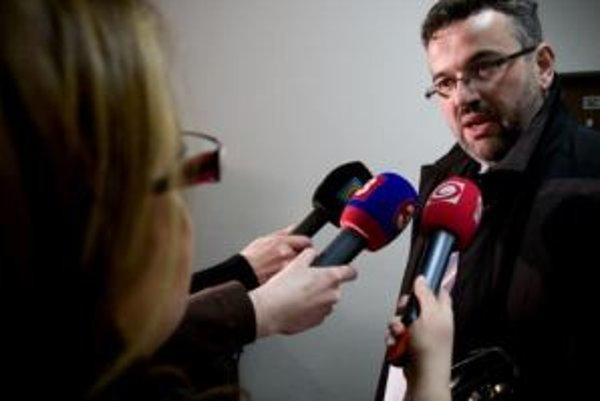 Odídený generálny riaditeľ Dopravného podniku Bratislava Róbert Kadnár.