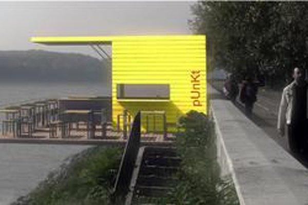 Sieť praktických kaviarničiek by doplnila modernú infraštruktúru na dunajskom nábreží.