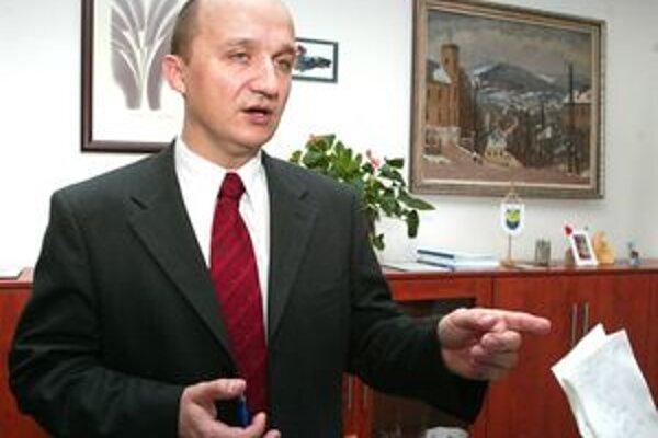 Žiarsky primátor Ivan Černaj.