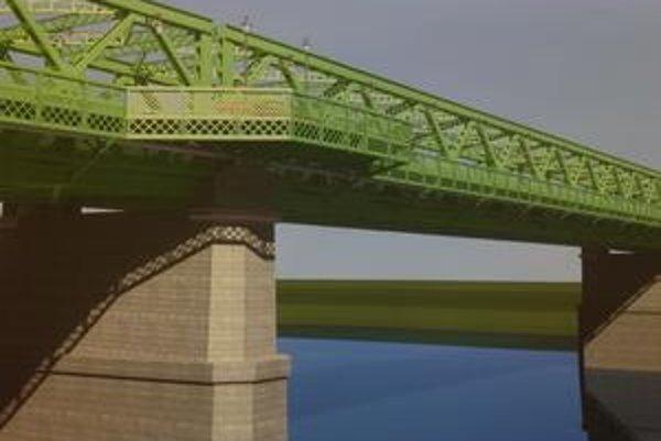 Most má svojou farbou pripomínať atmosféru čias kedy sa podobné mosty v Európe stavali.