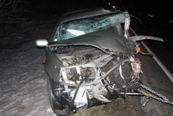 Vodič Toyoty nehodu neprežil.