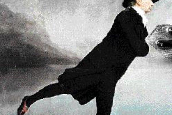 Štefan Schwartz: Korčuľovanie proti vetru, (citácia Henry Raeburn: Reverend Walker pri korčuľovaní), 1994.