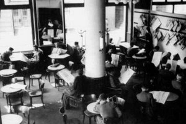 Legendárna kaviareň Astória na Suchom mýte. Sedel tu Šaľapin, Erenburg, Milo Urban, Gabo Rapoš aj Tido J. Gašpar.
