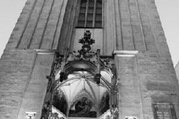 Kostol Maria am Gestade. Foto - lange nacht der kirchen