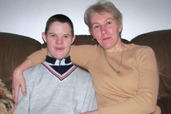 Zdenka so synom Erikom.