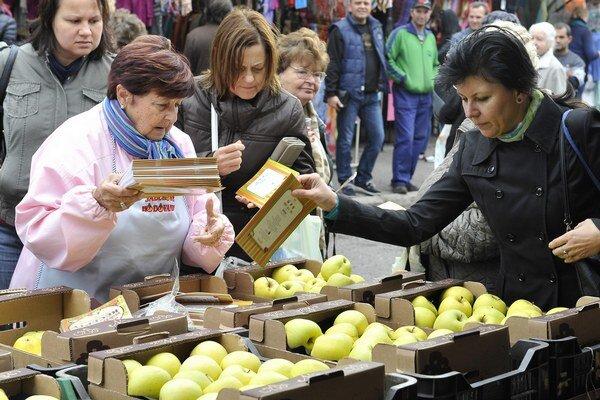 Jablkové hodovanie sa koná vo viacerých mestách v kraji.