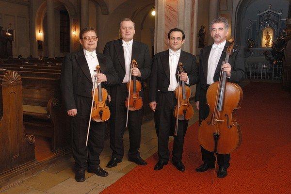 Moyzesovo kvarteto vzniklo pred  štyridsiatimi rokmi.