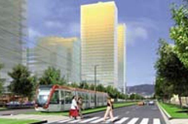 Zelený pozemok sa má podľa investorov zmeniť na centrum Petržalky.