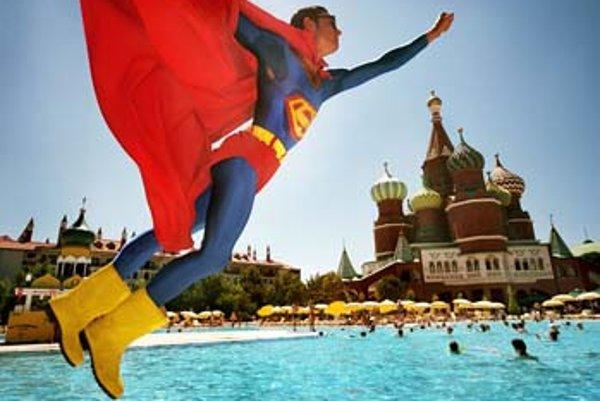 Reiner Riedler: Superman nad Červeným námestím, Turecko.