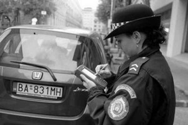 Mobilparking uľahčí policajtom kontroly.