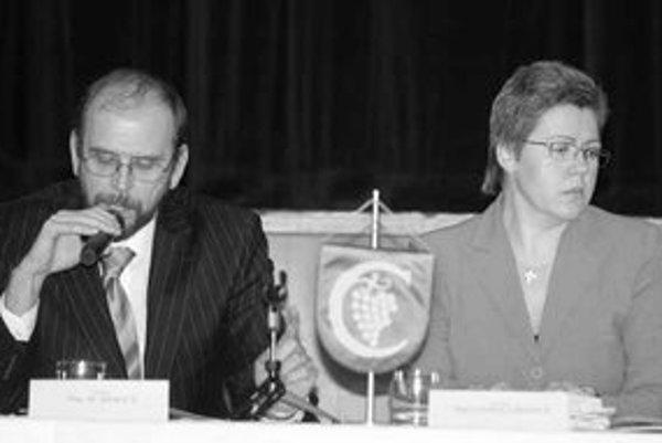 V Karlovej Vsi včera zložila sľub nástupkyňa Bystríka Hollého Iveta Hanulíková, ktorá kandidovala za koalíciu Smer, HZDS, SNS. Nová starostka však nemá ľahkú pozíciu, v miestnom zastupiteľstve má väčšinu pravicová koalícia.