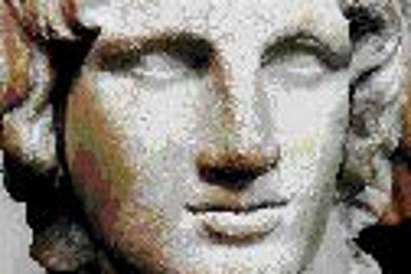 Busta Alexandra Veľkého z Britského múzea.