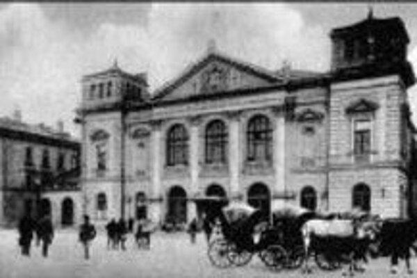 Hlavná stanica na začiatku 19. storočia.