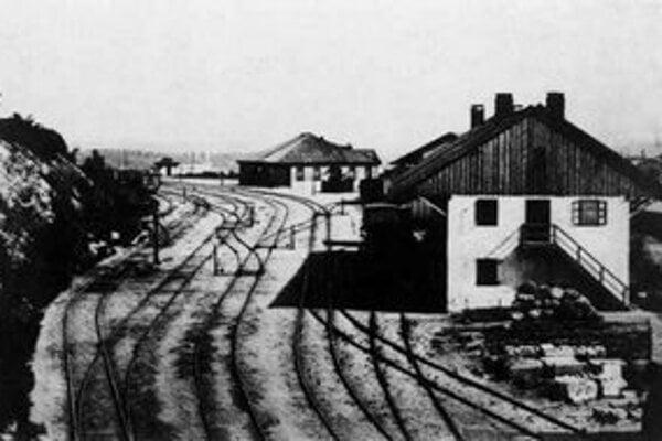 Štefan Kozič: Budovy hlavnej stanice 1855.