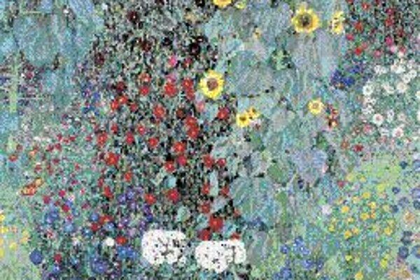 Gustav Klimt: Záhrada so slnečnicami, okolo 1906.
