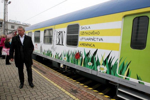 Špeciálny vozeň pre deti bude premávať na linke Zvolen-Žilina a späť.