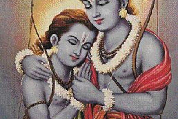 Stretnutie Bharatas s Ramom.