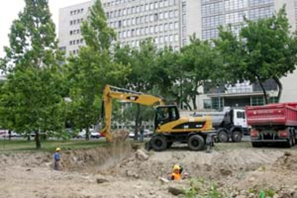 Platany pri rozhlase majú byť podľa územného plánu zachované. V piatok pätnásť z nich vyrúbali.