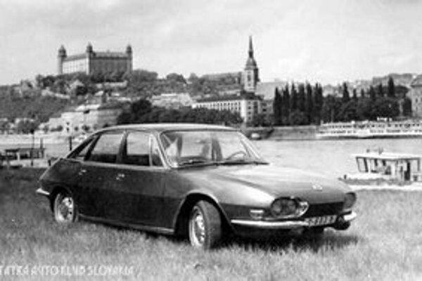 Reklama na Tatru 603X z roku 1966.