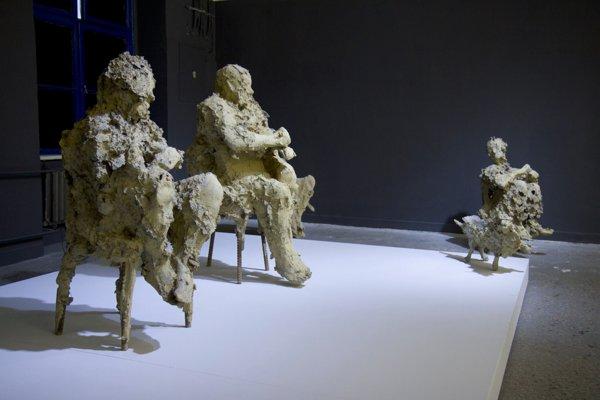 Sochy oceneného umelca Jana Zelinku.