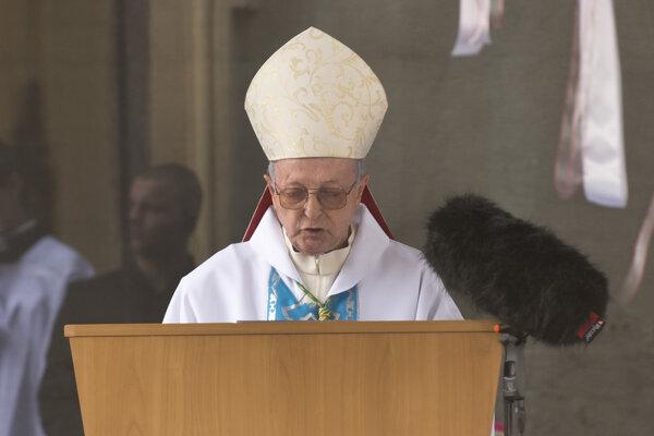 Apoštolský nuncius Svätej stolice na Slovensku Mario Giordana.
