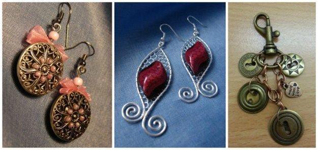 Zo starých gombíkov si môžete vyrobiť nádherné šperky.