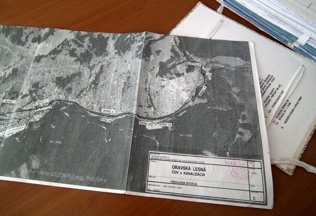 Projekt je hotový od roku 2007. Obec zaň vtedy zaplatila milión korún.