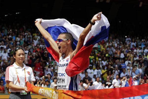 Matej Tóth je majstrom sveta z vlaňajška a pre Slovensko môže získať prvú atletickú olympijskú medailu.