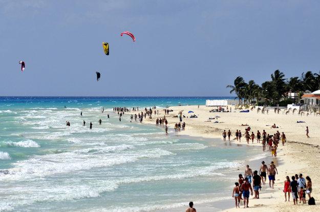 S kľudom angličana môžete očakávať, že pobrežie v Playa del Carmen bude naozaj ako na fotografiách.