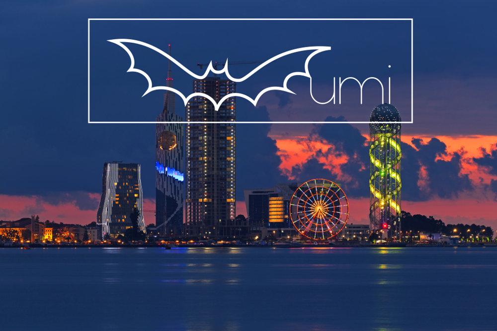 Batumi. angl. Bat(=netopier)+umi