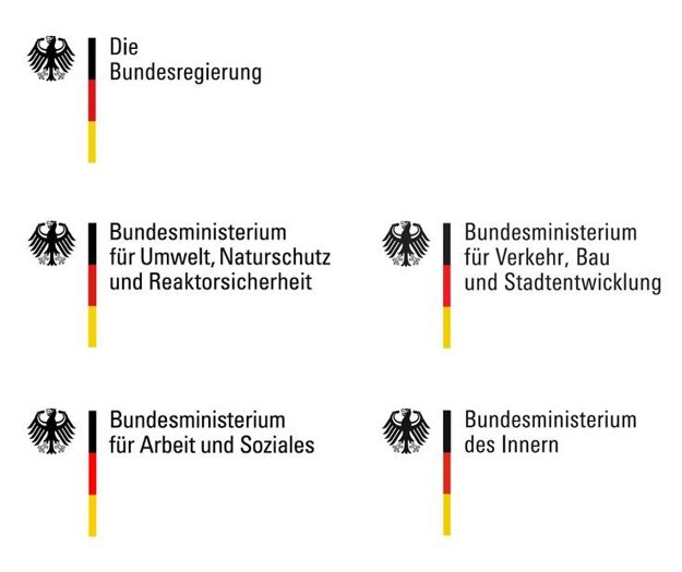 Logá nemeckých štátnych orgánov.