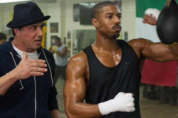 S hercom Michaelom B. Jordanom v snímke Creed (2015).