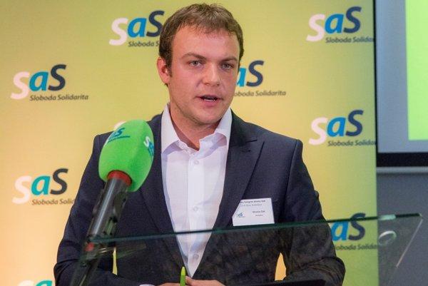 Miroslav Žiak sa stal členom republikovej rady SaS.