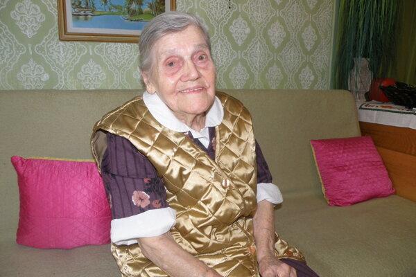 Mária Svrčková sa dožila sto rokov, je najstaršou Prievidžankou.