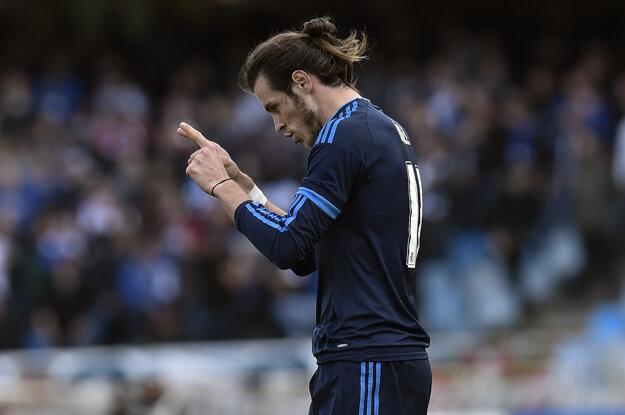 Gareth Bale potvrdil úlohu ofenzívneho lídra a dal jediný gól Realu Madrid.