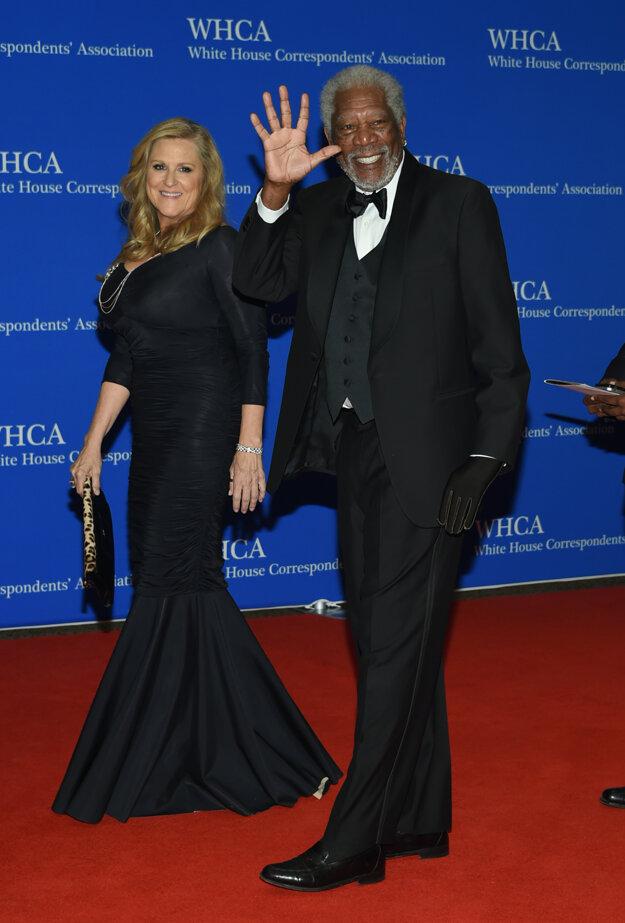 Lori McCreary a Morgan Freeman