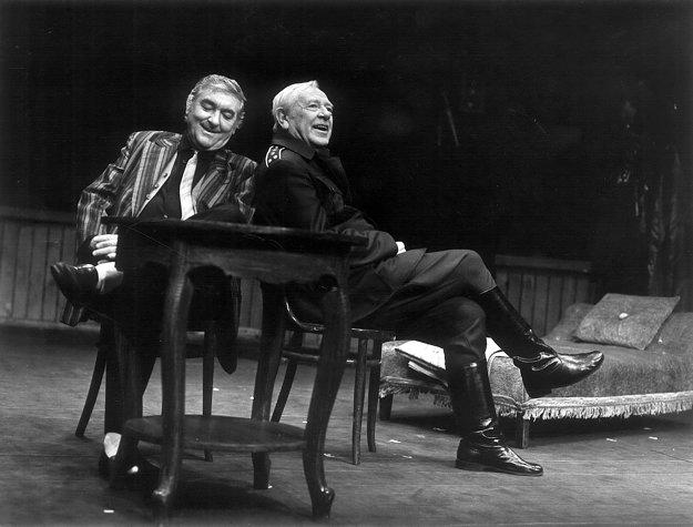 Play Strindberg (1993), Štefan Kvietik (Kurt), Karol Machata (Edgar)