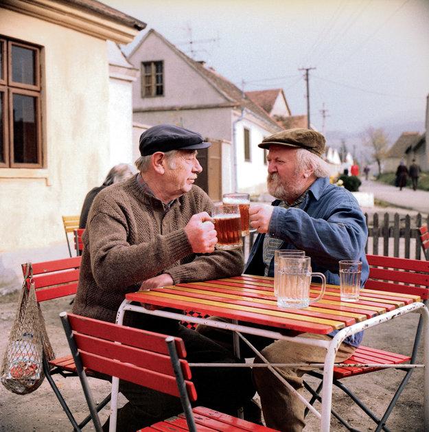 S Jozefom polónyim vo filme Hody.