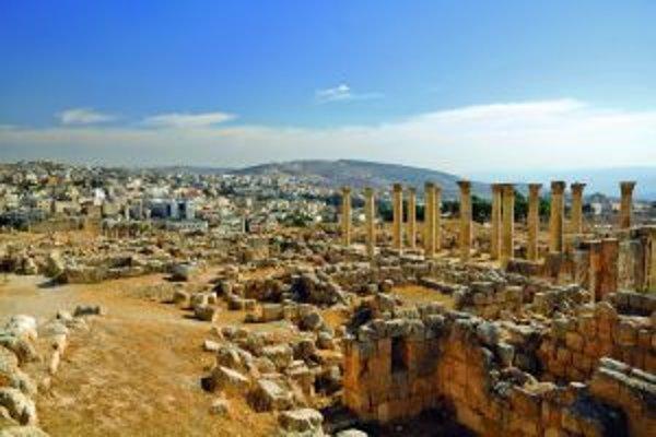 Ruiny antického mesta Jerash