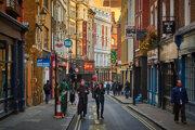 Malé ulice Londýna