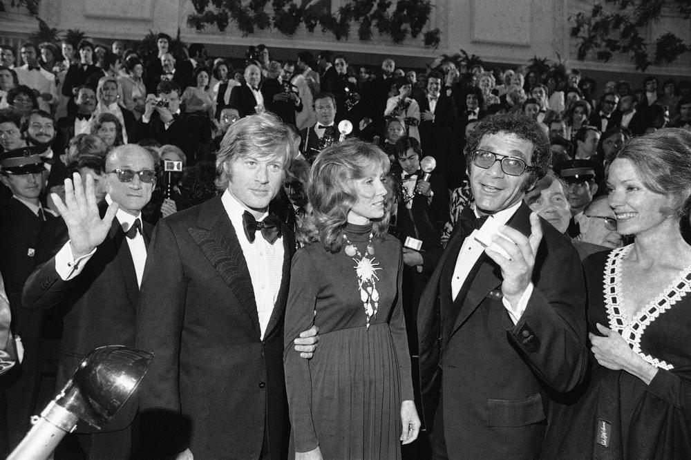 Robert Redford so ženou Lolou v roku 1972.