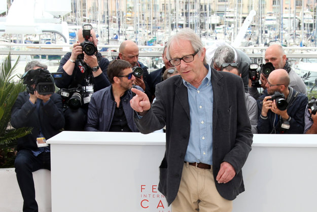 Ken Loach v Cannes.