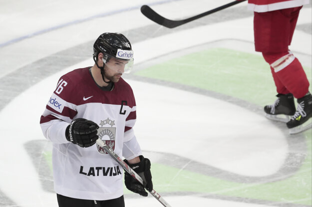 Lotyši otočili priebeh zápasu, nakoniec však aj tak Dánom podľahli po nájazdoch.