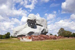 Bielrouský monument Odvaha.