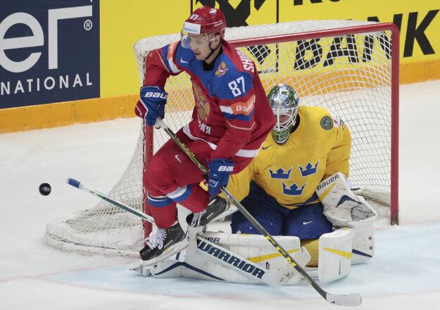 Rusko zaslúžene porazilo Švédsko.