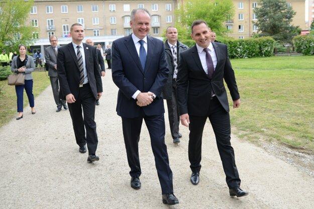 Prezident spoločne s primátorom Petrom Antalom diskutovali o mnohých problémoch, týkajúcich sa mesta.