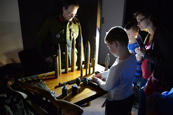 Program v Múzeu SNP zaujal nielen chlapcov.