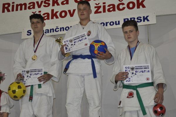 Viktor Ádam - 2. miesto a Lukáš Pilz - 3.miesto.