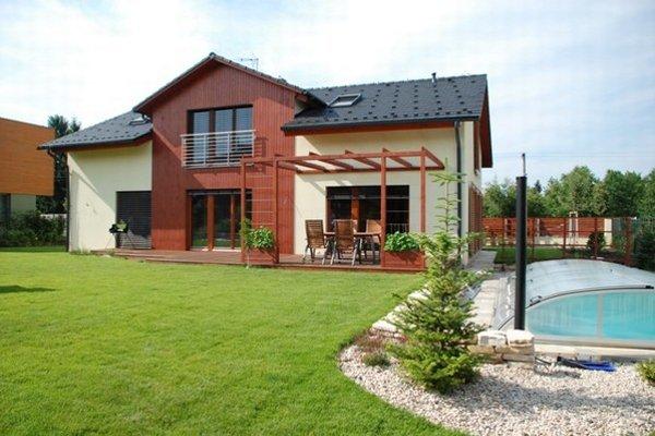 Jeden z realizovaných domov.